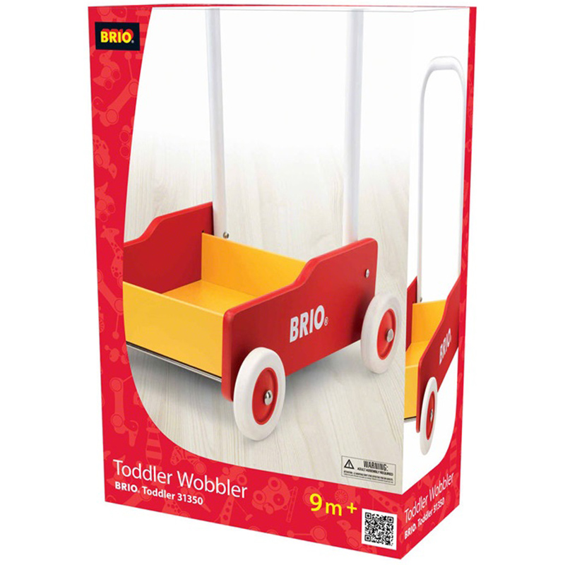 brio red toddler wobbler from brio wwsm. Black Bedroom Furniture Sets. Home Design Ideas