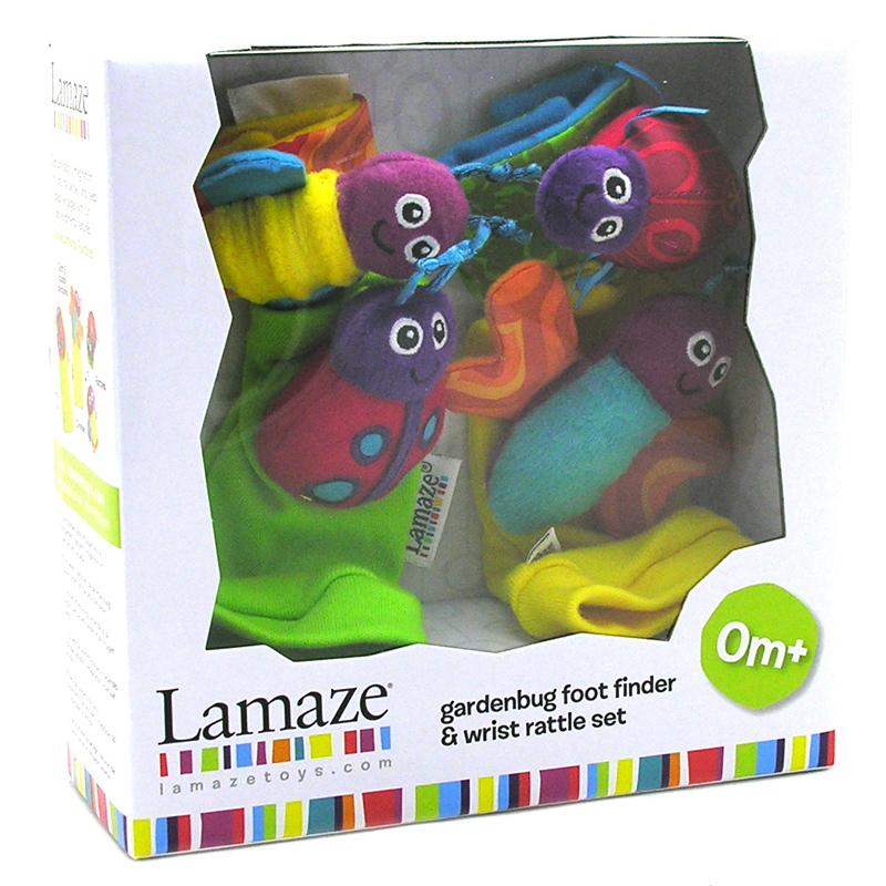 Lamaze Gardenbug Wrist Rattle, Foot Finder Set | eBay