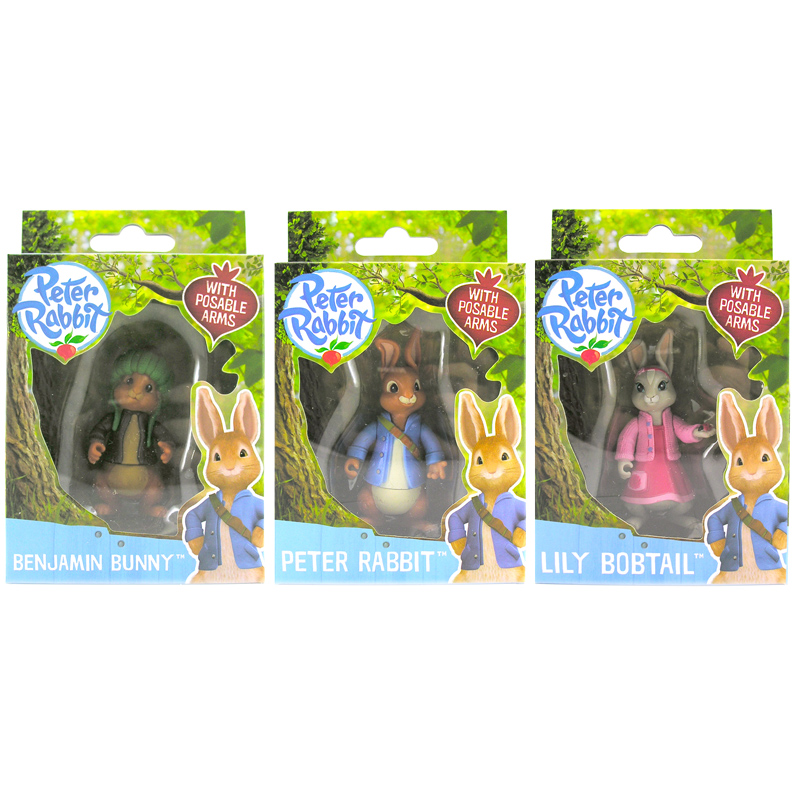 Peter Rabbit Friends Figures Choice OF 3 ONE Supplied NEW