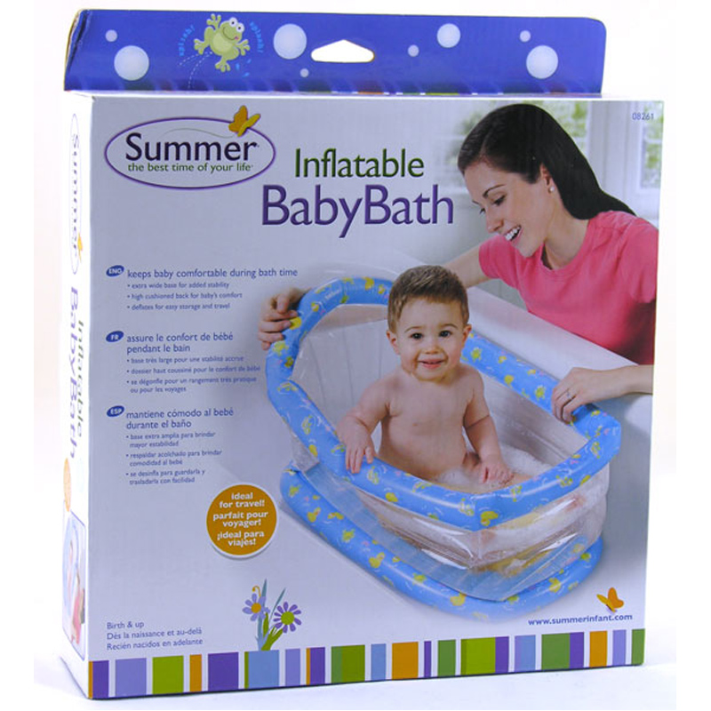 Charming Summer Infant Inflatable Baby Bath